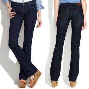 MADEWELL Bootlegger Dark Wash Jeans 25x30